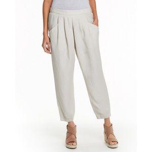 Eileen Fisher Tencil Slouchy Crop Pants Gray